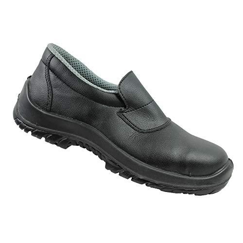 Cool Foot S2 SRC Sicherheitsschuhe Arbeitsschuhe Kochschuhe Laborschuhe flach schwarz B-Ware, Größe:42 EU
