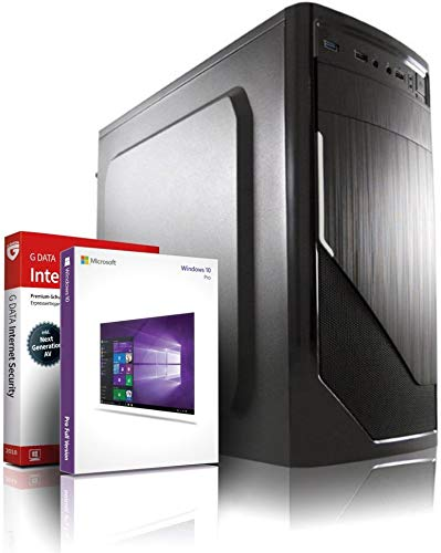 Silent PC SSD Computer Intel Core i5®, 4 Kerne, 3.4 GHz - mit 3 Jahren Garantie! | Quad-Core! i5 2400 | 16GB | 512GB SSD | Intel HD | WLAN | DVD±RW | 6xUSB | Win10 64-Bit | MS Office | #6205
