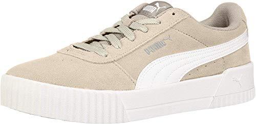 PUMA - Sneaker Carina da donna, grigio (Argento grigio-puma bianco-puma argento.), 38 EU