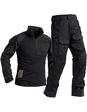 SR-Keistog Fuerzas Especiales Soldado Tácticas Airsoft Militaire Camuflaje Táctico Uniforme Militar Camisa de Combate Pantalones