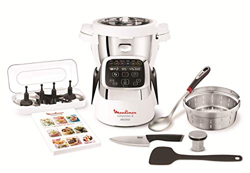 Moulinex Cuisine Companion HF806E10 Robot cocina 6 programas, 4.5 L hasta 6...
