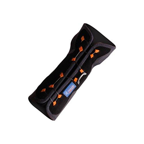 Muñequera de inmovilización con cierre Boa® Thuasne Sport - Negro/Gris/Naranja- Tailla 1 (13-17 cm)