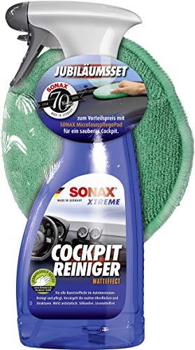 SONAX 02837410 Cockpitpflegeset, 500 ml