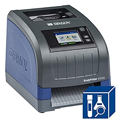 BradyPrinter i3300 Industrial Label Printer Brady Workstation Lab Software Ste