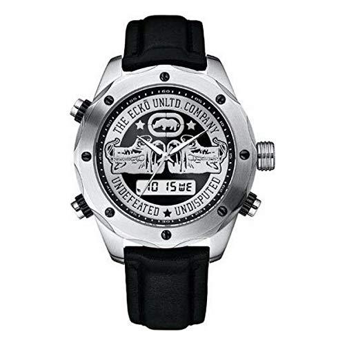 Marc Ecko Reloj Analog-Digital para Mens de Automatic con Correa en Cloth S0334275