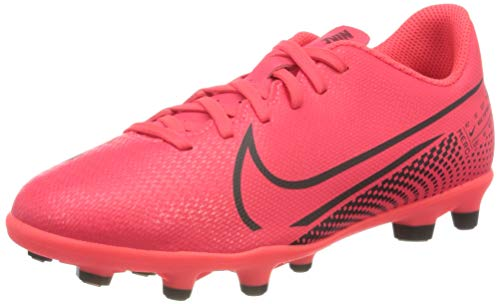 Nike Vapor 13 Club Fg/Mg Fußballschuh, rot, 35 EU