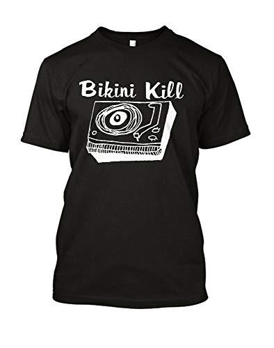Bikini Kill Logo T Shirt-American Punk Rock Music Riot Grrrl Feminist L7 Slits
