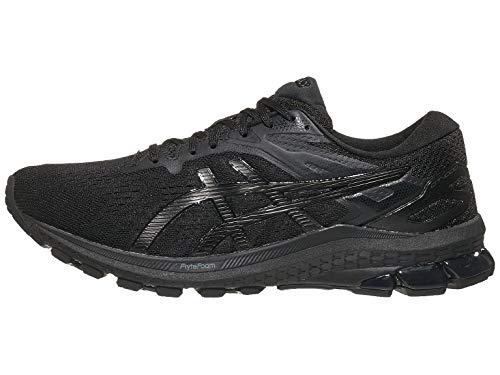 ASICS Men's GT-1000 10 Running Shoes, 10.5, Black/Black