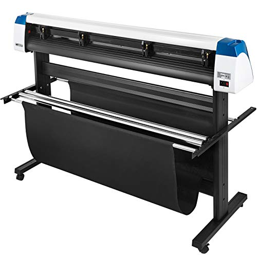 VEVOR Vinyl Cutter 53 Inch Vinyl Cutter Machine Semi-Automatic DIY Vinyl Printer Cutter Machine Manual Positioning Sign Cutting with Floor Stand Signmaster Software Photo #3