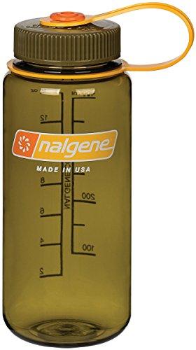 Nalgene Uni Wh Trinkflasche, Oliv, 0.5 Liter