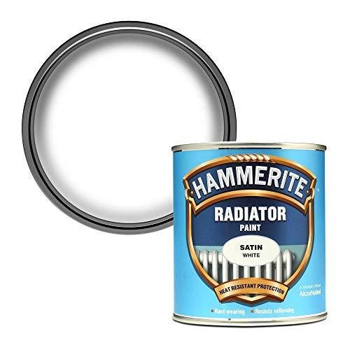 Hammerite 5084917 500ml Radiator Paint - Satin...