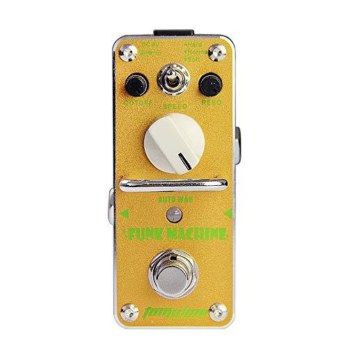 Pedal De Efecto De Guitarra AFK-3 Funk Machine Auto Wah eléctrica Mini Efecto único con True Bypass