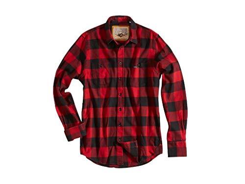 Rokker Hemd Denver Red Check, XL