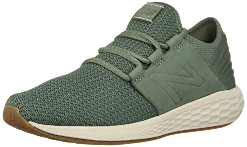 New Balance Men's Fresh Foam Cruz V2 Sneaker, vintage cedar, 7.5 2E US