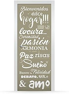 Vinilo para Puerta | Stickers Door | Pegatina Puerta | Bienvenidos (204x83)