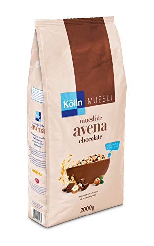 Kölln Muesli De Avena Integral Con Chocolate Y Avellanas 2 Kg, 2000 Gramo