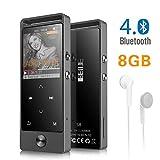 Lecteur MP3 BENJIE Bluetooth 4.0 8 G Portable sans Perte Son Hi-FI Métal Lecteur de...