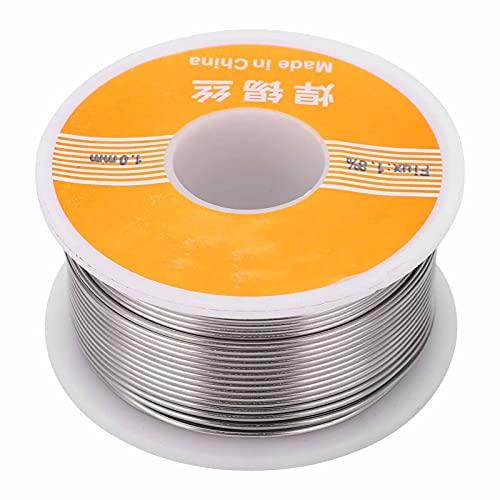 Alambre de estaño 1.8% Rosin Core 100g 1mm Diámetro 60-40 Diseñado para reparaciones eléctricas Soldadura Soldadura