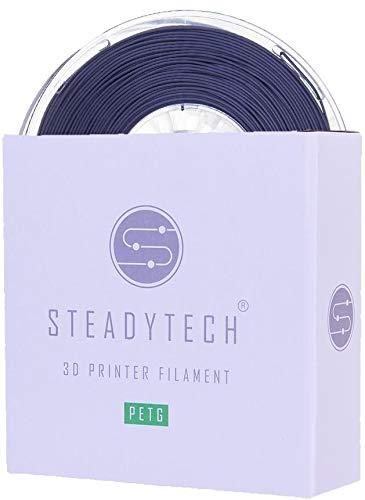 Steadytech Premium PETG 3D Printer Filament 1.75mm 1KG Spools (Multiple Colours Available) (Grey)