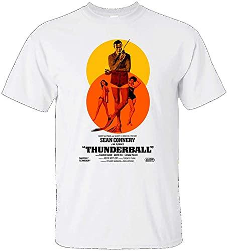 ZRD Thunderball, 007, Sean Connery, Retro, James Bond, T-Shirt_3229