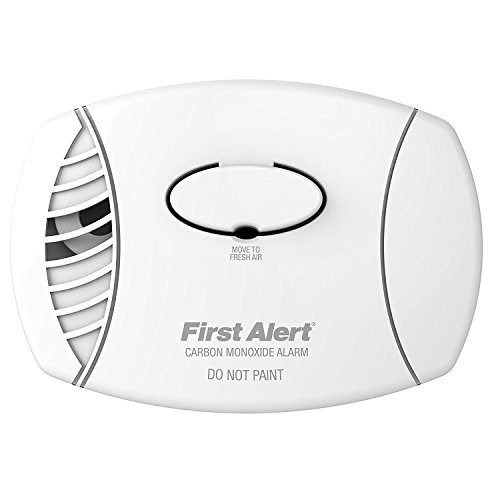 First Alert Carbon Monoxide Detector| No Outlet Required, Battery Operated,...