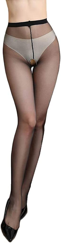 xoxing Womens High Waist Tights Stockings Thigh High Sexy Pantyhose Soft Lingerie Lace Bodysuit Underwear(R)