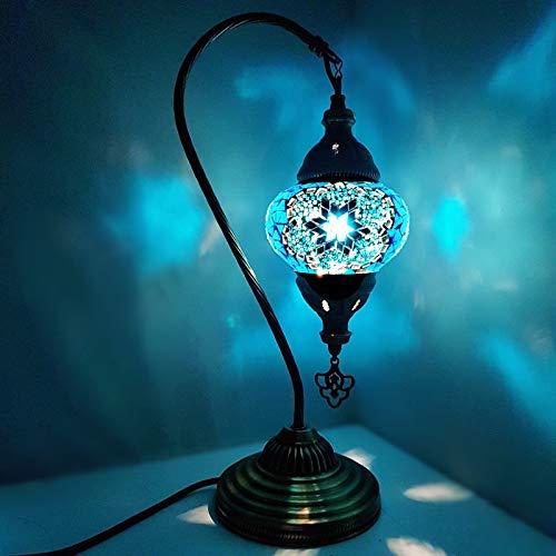 De turquía Lámpara / marroquí lámpara Estilo Tiffany Cristal Escritorio Lámpara De Mesa - MC3