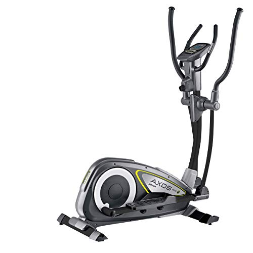 Kettler Bicicleta elíptica Nova M, 12 kg de masa oscilante, 8 niveles de resistencia, 110 kg de peso máximo, ordenador de entrenamiento LCD