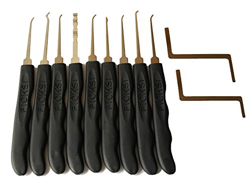 Picklock24 Einsteiger-Dietrich-Set (Pickset 11-teilig)