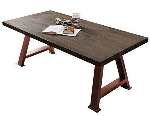 Sit Möbel TISCHE & BÄNKE Tisch 220x100 Balkeneiche Carbongrau