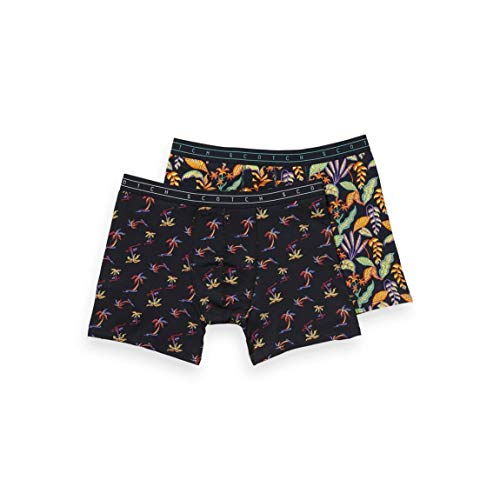 Scotch & Soda Classic Boxer Short met Summer All-over Prints Boxershorts