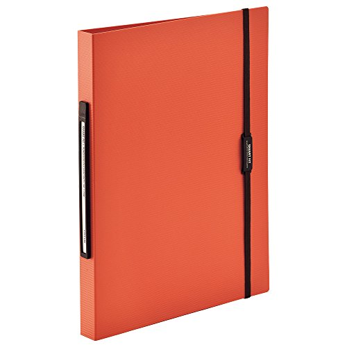 リヒトラブ パンチレスファイル A4 160枚収容 オレンジ F7550-4