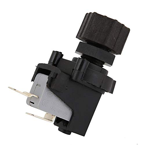 Micro Switch, Adjustable Differential Air Pressure Switch Micro Pressure Switch 125-250V for Food Waste Disposer and Jacuzzi