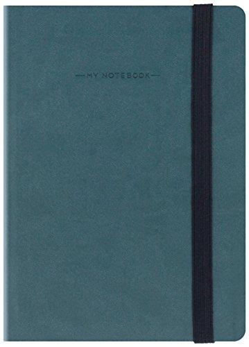 Bindungen mynot00Notizbuch, 9.5x 13.5cm 9.5 x 13.5 cm Petrolio