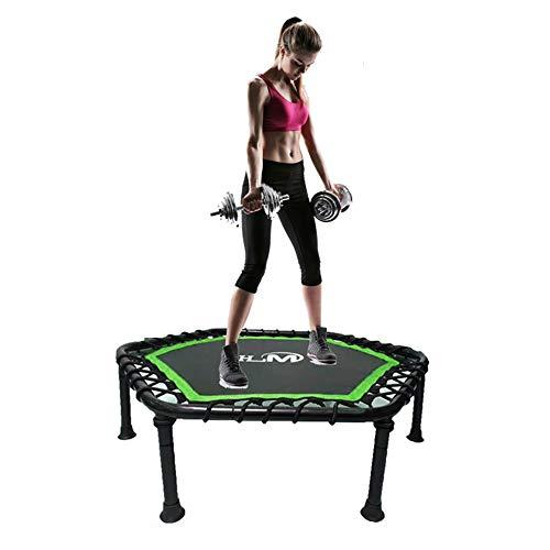 TRAMPOLINE HUO Fitness voor volwassenen, fitness zonder handvat, Indoor Mini Opvouwbare Fitness Gemakkelijk op te bergen