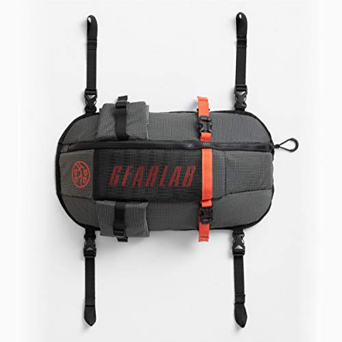 Gearlab Deck Pod - Kayak Deck Bag, Paddling Magazine Award, Holds Paddle Float, Bilge Pump