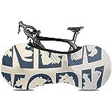 Copriruota per Bici, Custodia per Bici, Copri Bici - Academy of New York Brooklyn Grafica America Americana