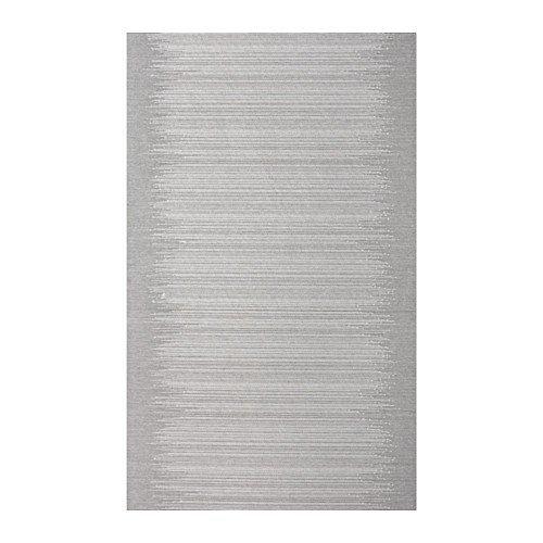 IKEA VATTENAX Schiebegardine in grau; (60x300cm)