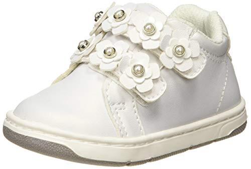 Chicco Scarpa Gigliola, Sneaker Bambina, Bianco (Bianco/300 300), 22 EU