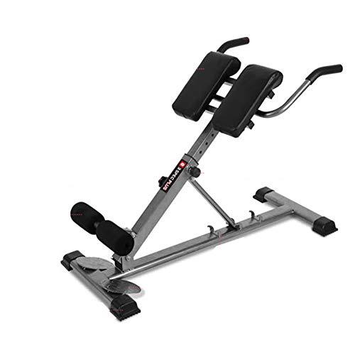 LYZL Zurück Hyperextension Couchtische- Cardio Bauch- und Rückentrainer Bauen Rückenmuskulatur mit 3 Schwierigkeitsstufen, für Heim Aerobic-Training