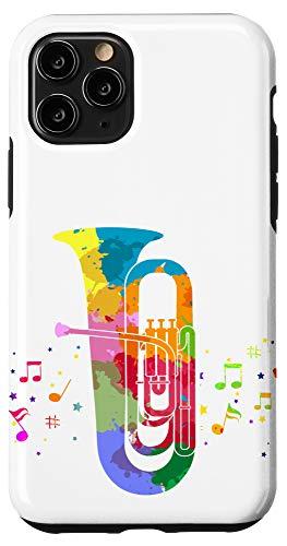 iPhone 11 Pro Marching Band Retro Tuba Case