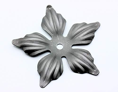 UHRIG ® Rosetón de hierro forjado de 140 mm de diámetro para barandilla de ventana #622