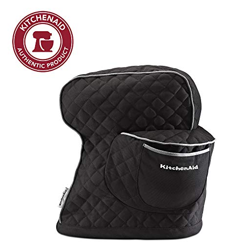 KitchenAid Fitted Stand Mixer Cover - Onyx Black