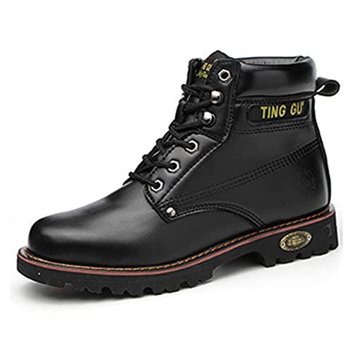 Zapatos de Seguridad Hombres - Zapatillas de Trabajo con Puntera de Acero Ultra Ligeros Comodos Transpirable Calzado de Industrial y Deportiva
