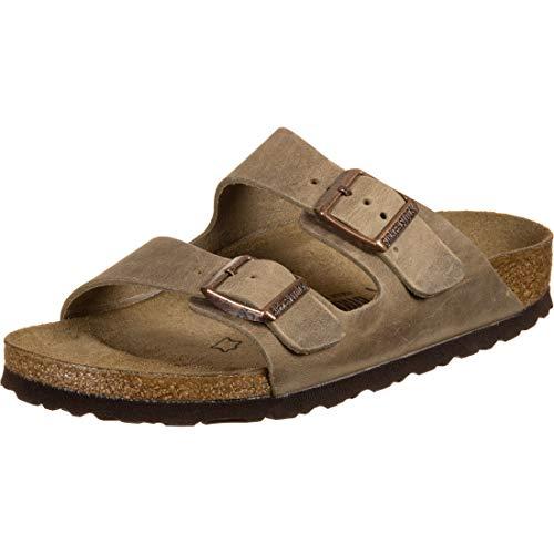 Birkenstock Unisex Arizona Tabacco Brown Sandals - 9-9.5 2A(N) US Women/7-7.5 2A(N) US Men