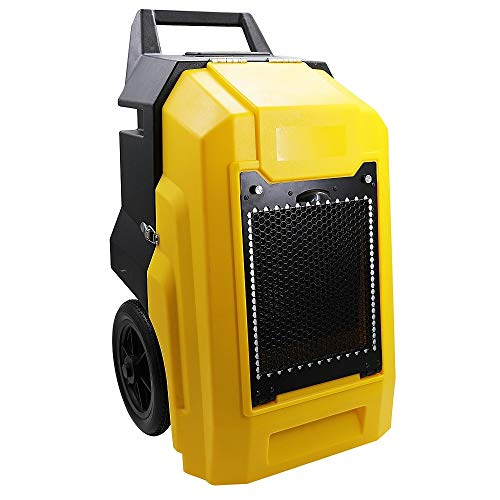 Great Deal! Zoom Blowers 1 HP 136 PPD Commercial Dehumidifier with Wheels - Removes 17 Gallons of Wa...