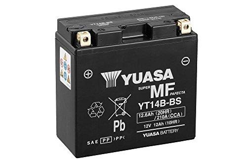 Preisvergleich Produktbild Batterie YUASA YT14B-BS,  12V / 12AH (Maße: 150x70x145) für Yamaha FJR1300 / A ABS Baujahr 2008