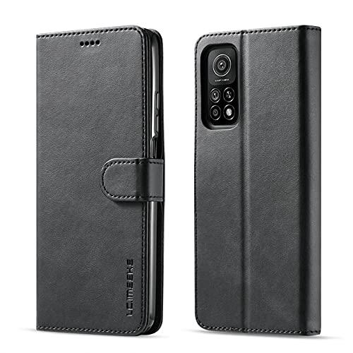 Funda Xiaomi redmi Note10 4G redmi Note10S Funda Carcasa Silicone Case Funda Protectora Negro móvil Cover Libro Caso Cubierta Magnética Billetera Cuero Xiaomi redmi Note10 4G redmi Note10S Carcasa