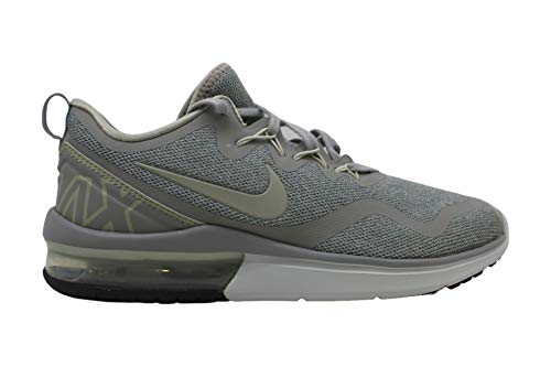 Nike Womens y Fabric Low Top Lace Up Running Sneaker, Grey, Size 10.0