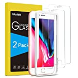 SPARIN [2-Pack] Protector Pantalla iPhone 7 Plus/iPhone 8 Plus, Cristal Templado iPhone 7/8 Plus, Vidrio Templado con [Alta Definición] [9H Dureza] [Anti-Huella]
